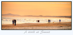 A stroll at Sunset (loobyloo55) Tags: sunset beach australia birbuibeach