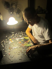 August 5, 2015 (4) (gaymay) Tags: california gay light love lamp happy pieces desert wine jerry palmsprings puzzle jigsawpuzzle triad