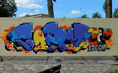 Graffiti Couwenhoek (oerendhard1) Tags: urban streetart art graffiti rotterdam gap esc capelle casm couwenhoek
