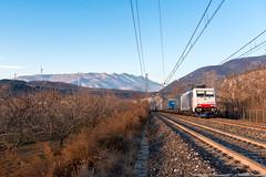 Ultime luci sul combinato (Damiano Piovanelli) Tags: treno treni lokomotion bombardier traxx traxx2 traxx2e ferrovie ferrovia brennero brenner brennerbahn zebra e186 railtractioncompany rail rtc 186440 e186440