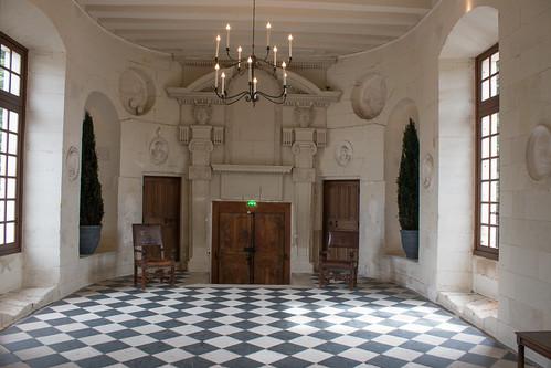 Galerie du Rez-de-chaussée du Château de Chenonceau