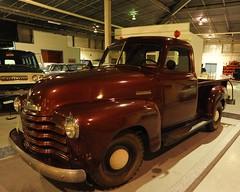 1949 Chevrolet pickup truck (D70) Tags: western development museum moose jaw province saskatchewan 1949 chevrolet pickup truck