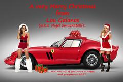Merry Christmas 2016 - Nigel (Nigel Smuckatelli) Tags: merrychristmas ferrari ferrari250gto beautiful sexy babes promobabes sexychristmas classic classiccar vintage
