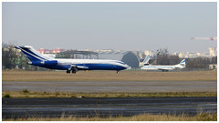 Boeing 727-2X8 (ADV) Super 27 & SE 210 Caravelle 12. (Aerofossile2012) Tags: boeing 7272x8 adv super27 vip bizjet businessaviation avion aircraft aviation lebourget mstar 2017 se210 caravelle