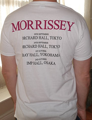 1947B Morrissey - Japan 2016 Tour (Minor Thread) Tags: minorthread tshirtwars tshirt shirt vintage concert tour rock merch merchandise punk indie moz morrissey thesmiths
