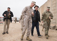 161225-D-PB383-031 (Chairman of the Joint Chiefs of Staff) Tags: 19thcjcs generaldunford joedunford chairman jointstaff marines josephfdunfordjr josephfdunford usmc marinecorps uso andrewsairforcebase