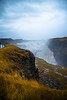 Gullfoss Waterfall (Marilah) Tags: iceland travel travelphotography gullfosswaterfall gullfoss waterfall goldenfalls hvítáriver moss rocks land formation park national color trippic wanderlust goldencircle bodyofwater colorpalette
