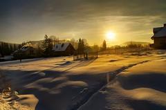 Miraculous lights in 2017! (Zyla, K. alone) Tags: beskyds landscape pentaxlimited pentaxda15mmlimited pentaxart wysowa thebp winter pentaxsmc nature beskidniski zima polska justpentax pentaxk30 poland