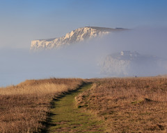 Freezing Fog on a Sunny Winters Day - IMG_6294 (s0ulsurfing) Tags: s0ulsurfing 2016 december isle wight winter freezing fog freshwater bay weather weird