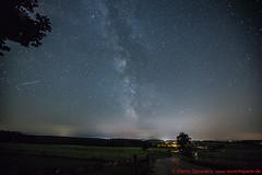 Die Milchstraße über der Ludwigshöhe (Deining) (munichspace) Tags: milchstrase milkyway ludwigshöhe deining sternenhimmel sterne astronomie galaxie galaxy