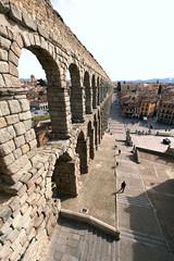 Aqueduct Bridge in Segovia, Spain