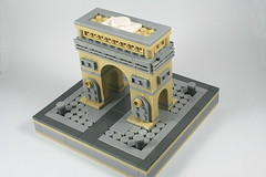 LEGO Arc de Triomphe 3 (xtitus) Tags: lego micro micropolis arcdetriophe paris architecture