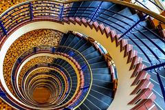 Brahmskontor (Elbmaedchen) Tags: staircase treppenauge brahmskontor roundandround helix stairs hamburg kontorhaus