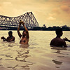 கொல்கத்தா (Kals Pics) Tags: ganga snan life people morning sunrise water reflection howrah bridge holy spiritual cityofjoy kolkata westbengal culture tradition sky clouds weather climate activity hooghly ganges ancientcity culturalindia cwc roi chennaiweekendclickers rootsofindia historiccity incredibleindia calcutta india divineindia sacred history myth legend travel hoogly kalspics ghats jagannathghat