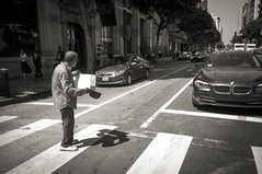 VEastside_134.BW (glenn_primm) Tags: beggar panhandler people street losangeles ca usa