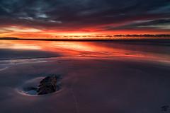 morning fire (Thomas Bacher - Fotografien) Tags: sunrise sun beach maspalomas gran canaria sand sonnenaufgang fire rot red feuer