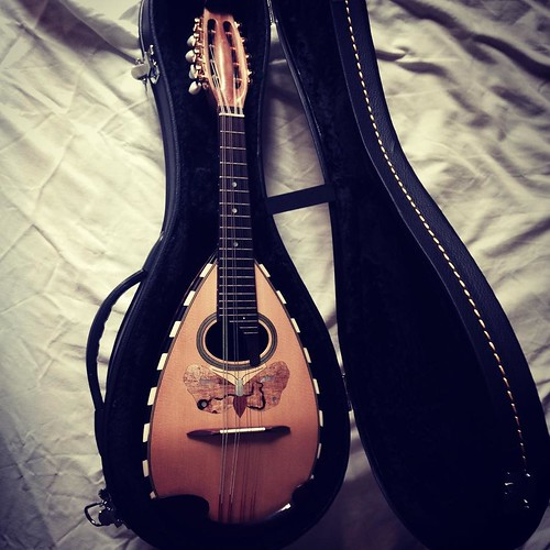 "Just received this gorgeous mandolin, you'll get to hear some of it on the upcoming record :) #music #art • <a style=""font-size:0.8em;"" href=""http://www.flickr.com/photos/109300808@N06/32362116546/"" target=""_blank"">View on Flickr</a>"