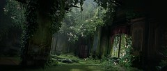 The Green Chamber (~Scimo~) Tags: ps4 uncharted screenshot videogame decay zerfall ruine grün raum natur nature green pflanzen plants room