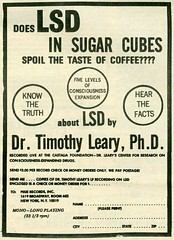LSD In Sugar Cubes (kevin63) Tags: lightner advertisement sugarcubes timothyleary coffee mindexpanding drugs lsd record coupon truth consciousness expanding expansion fivelevels mono longplaying order