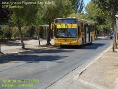 U7 STP Santiago.- (Micros,Buses en La Region Metropolitana de Chile) Tags: induscar caio mondego h