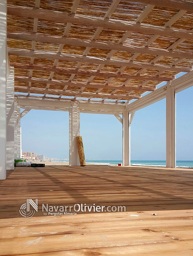 The world 39 s most recently posted photos by navarrolivier - Pergolas de madera ...