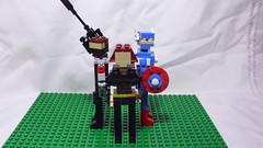 Winter Soldier, Black Widow & Captain America (andresignatius) Tags: lego miniland moc marvel wintersoldier blackwidow captainamerica