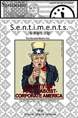 Sentiments #193-B (penandpaperperson) Tags: sentiments comics cartoon strips art authoritarian authoritarianism trump