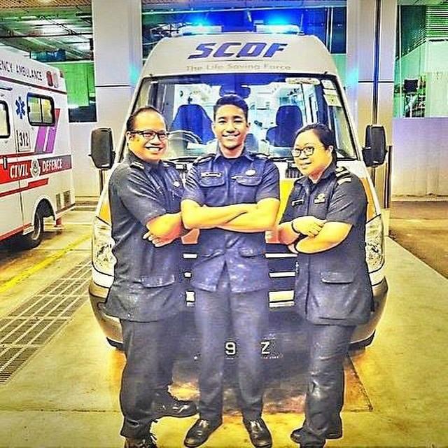 BUENAS NOCHES, BUENA GUARDIA desde SINGAPORE !!  Seguidores de todo el planeta, como @Muhammad Aidil que nos envía y desea un buen turno desde The Official Khoo Teck Puat Hospital Page de #Singapore !!!  Qué nivelazo de seguidores tenemos !! Os animais a