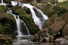 Snowdon Waterfall ({House} Photography) Tags: park mountain wet water wales waterfall long exposure north national snowdon llanberis snowdonia housephotography timothyhouse