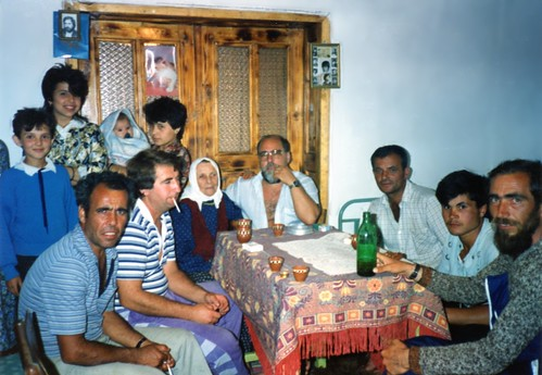 Ali with relatives, Polyanovo, Bulgaria