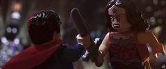 INJUSTICE (fullnilson) Tags: new woman wonder photography dc lego superman wonderwoman vs superheroes injustice