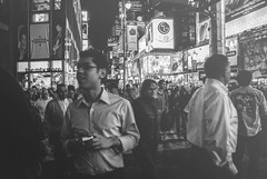 people on times (pinhead1769) Tags: people newyork blancoynegro blackwhite manhattan timessquare bwdreams