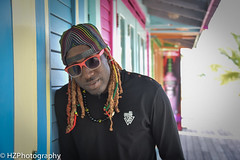 Island Village, Ocho Rios (Heidi Zech Photography) Tags: man dreadlocks bass jamaica bassist dread sly bassplayer ochorios islandvillage jamaicanman floydhussey floydslyhussey jamaicanbassplayer jamaicanbassist