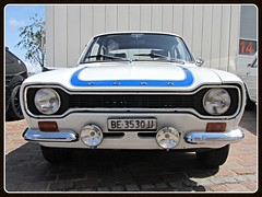 Ford Escort RS 2000 MkI 1974 (v8dub) Tags: auto old classic ford car 1 schweiz switzerland 1974 automobile 2000 suisse automotive voiture german oldtimer oldcar rs mk escort collector youngtimer wagen pkw klassik bleienbach i worldcars