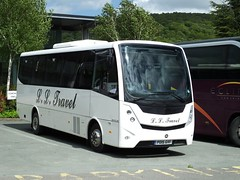 tn_LL TRAVEL MOBI MIDI EXPLORER - PO15 GVF - IN BAKEWELL - JUN 2 - 1 (focus- transport) Tags: road travel bus public buses derbyshire transport group first tm bakewell hulleys