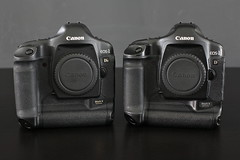 My 1Dmk2's big brother has arrived (Dirk Bruyns) Tags: canon 50mm 1d mk2 5d mkii 1dmk2 1dsmk2 5dc