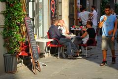 Bar italiano (pineider) Tags: street europa euro topless sonya7 italiaitalynightseranoche tittsboobsnakedtopless toplesstetteboobstitts sonya7fullframefullframe