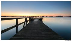 Seeburger See (schmilar77) Tags: see natur himmel filter dämmerung hitech steg marke morgenrot objekte morgendämmerung gewässer eichsfeld fototechnik ndgrad bildbeschreibung tageszeit tamron1024mmf3545spdiiildaslif 06he
