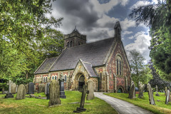 St. John The Evangelist (Charliebubbles) Tags: canon eos cheshire hdr anglican stjohntheevangelist englishheritage photomatix gradeii mosslane byley 60d canoneos60d photomatixpro4 180715