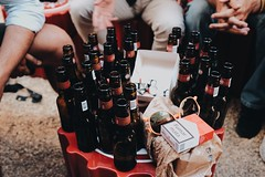 halfwayThere (.maique.) Tags: friends portugal beer fuji lisboa lisbon parquedasnacoes fujix classicchrome vscocam x100t