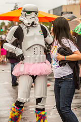 2015.07.18_SD_Pride-25 (bamoffitteventphotos) Tags: california pink summer usa rain weather starwars sandiego cosplay july pride event prideparade stormtrooper northamerica 18 tutu hillcrest 501stlegion 2015 sandiegopride july18 sdpride lgbtq