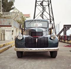 San Francisco Fuji 160NS 019a (Jonathan_in_Madrid) Tags: sanfrancisco 6x6 film truck mediumformat fuji epson alcatraz franka 2015 v500 160ns solidaiii
