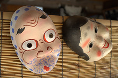 Masks for sale Tsumago