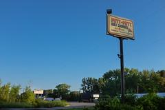 Putt-Putt Golf Courses (ryankeberly) Tags: road sign unitedstates michigan fujifilm roadsideamerica baycity x100 x100t