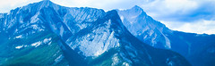 Into the Blue (ofathene) Tags: park sky mountain canada mountains canon landscape rockies outdoors jasper outdoor july rocky national alberta 2015 t5i