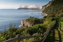 As Simple As That (Bert CR) Tags: ocean sea vacation fog view quebec shoreline lookout atlantic sick atlanticocean flu forillon 2015 gaspepeninsula capbonami forillonnationalpark simpleasthat
