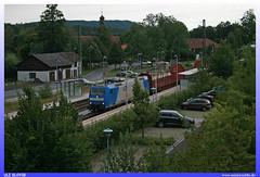 "185 514-7 ""EBS"" (uslovig) Tags: station train germany deutschland 7 zug bahnhof locomotive mbh 185 lokomotive lok 417 ebs elektro gesellschaft elok 4177 gmbh holzzug erfurter rödental timper roedental bahnservice"