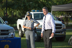 National Night Out in North Charleston (North Charleston) Tags: community police event cop officer lawenforcement channel2 highwaypatrol parkcircle nationalnightout nno northcharleston wcbd ncpd schp brendanclark