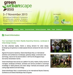 2015 GreenUrbanScape Asia (CleaningAsia.com) Tags: landscape urbandesign greenurbanscape greenurbanscapeasia