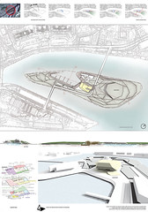 Dusan Dacic, Master plan for Szczecin Islands, concept design for Museum of natural history, Szczecin, 2014.